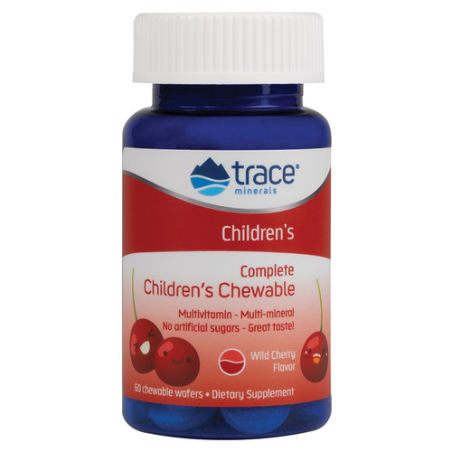 Trace Minerals Childrens Chewable 60 Wafers