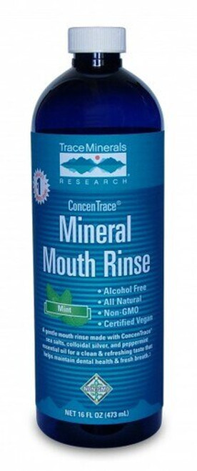 Trace Minerals Mouth Rinse 16 oz.