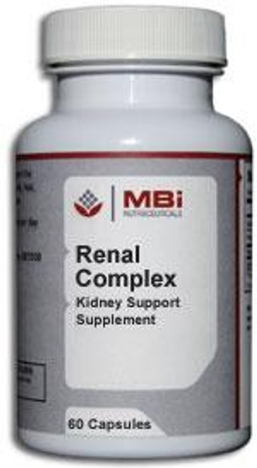 MBi Nutraceuticals Renal Complex Glandular Tissue Concentrate 60 Capsules
