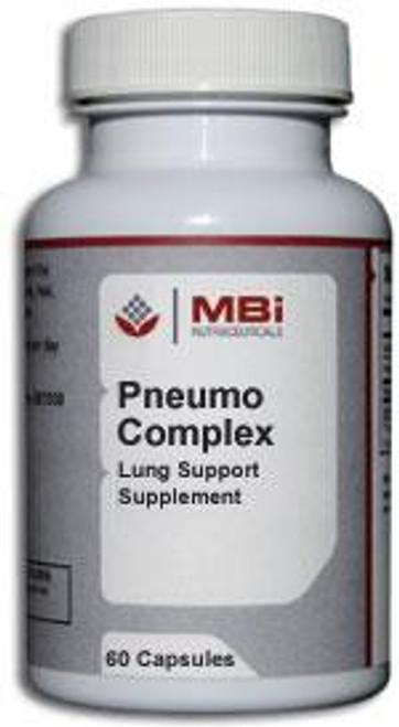 MBi Nutraceuticals Pneumo Complex Glandular Tissue Concentrate 60 Capsules