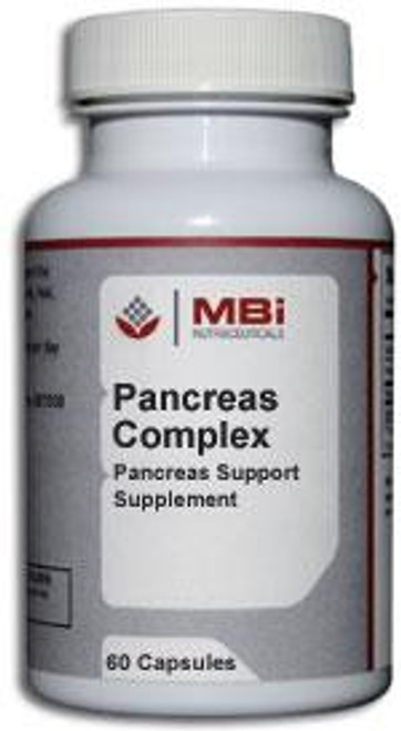 MBi Nutraceuticals Pancreas Complex Glandular Tissue Concentrate 60 Capsules