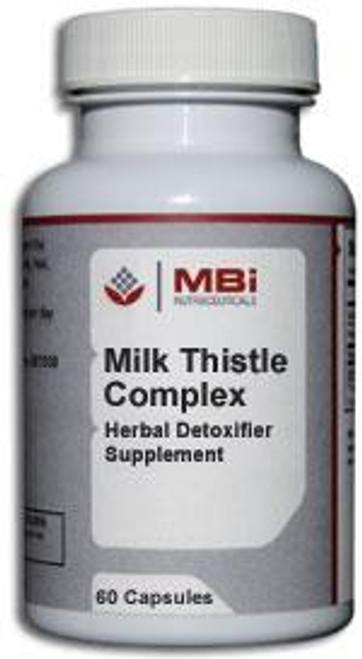 MBi Nutraceuticals Milk Thistle Complex 90 Capsules