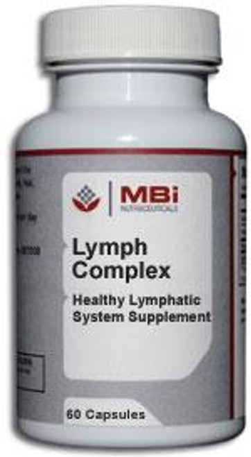 MBi Nutraceuticals Lymph Complex Glandular Tissue Concentrate 60 Capsules