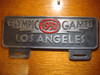 1932 Olympics Games Los Angeles Car License Plate (FOBS Toppers)