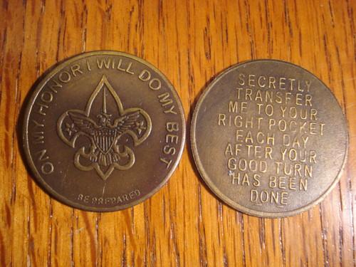 Boy Scout Pocket Coin