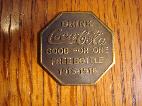 Coca-Cola World's Fair 1915-1916 Token