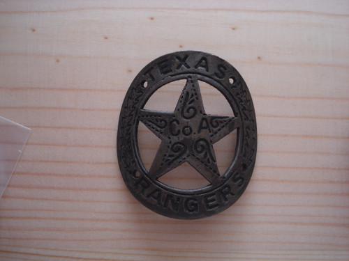 Texas Ranger Co.A Gun Butt Tag