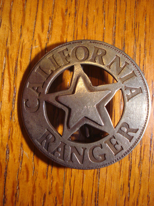 California Ranger Western Badge