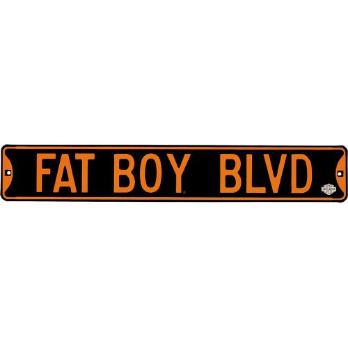 Fat Boy Blvd Street Sign