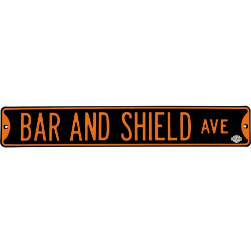 Bar & Shield Ave Street Sign