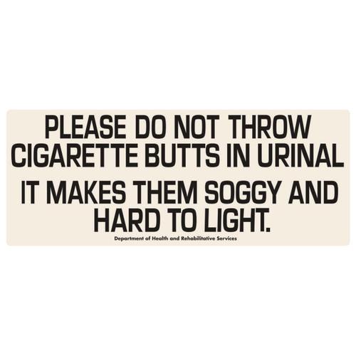 Cigarettes Tin Sign