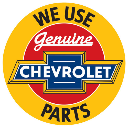 Chevrolet® Parts Tin Sign
