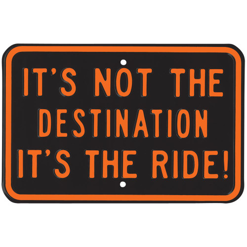 Destination Parking Street Sign