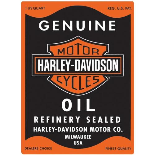 H-D® Oil Can Rectangle Tin Sign