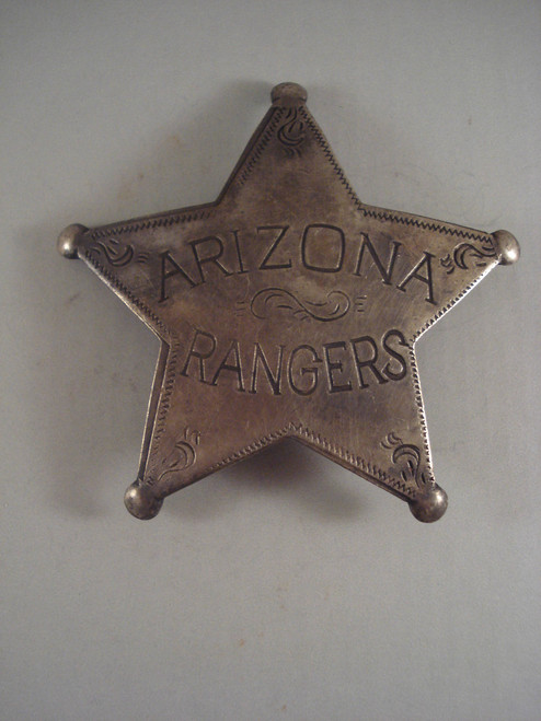 Arizona Rangers Western Badge