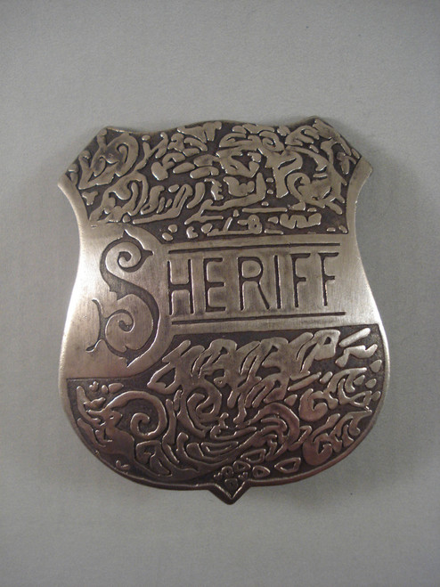 Sheriff Western Badge 82