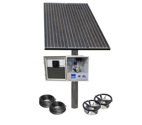 SD-2-PM Solar Aerator Complete KIT (Pole Not Included)