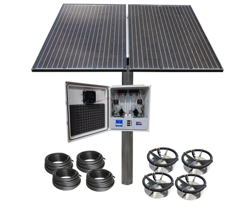 SD-4-PM Solar Aerator Complete Kit Pole Not Included