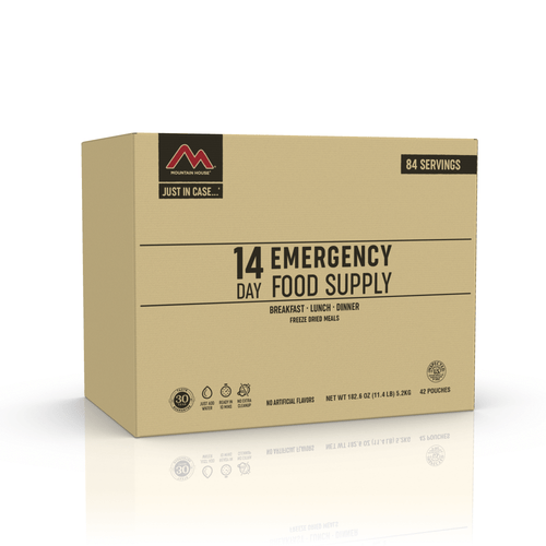 JUST IN CASE…® 14 DAY EMERGENCY FOOD SUPPLY