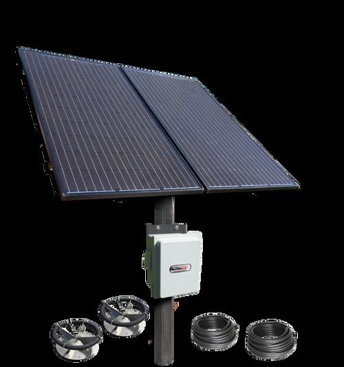 SD-2-PM Solar Aerator -Dual Panels-