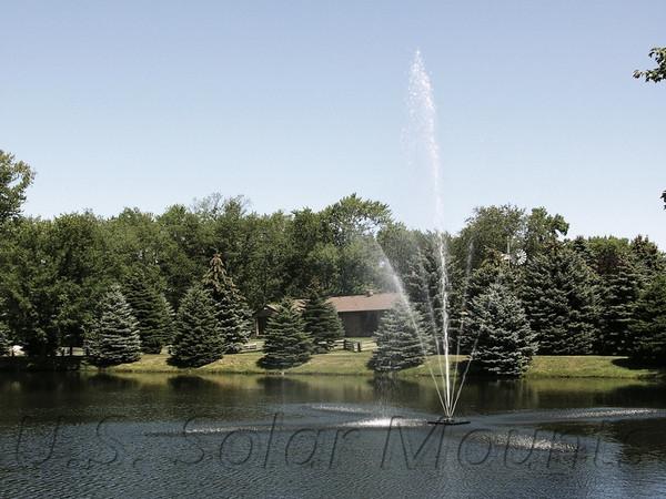 Clover 1.5 HP Decorative Pond Fountain