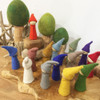 Rainbow Gnomes & earth Gnomes by Papoose - Wood/Felt Toys