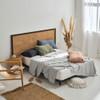 Nara Bamboo 400TC Bluestone Sheet Set | King Bed | Linen House
