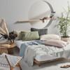 300TC Cotton Percale Vienna Sheet Set by Linen House Cream