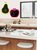 ForWalls Apple and Pear Blackboard Wall Decals