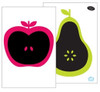 Apple and Pear Blackboard Wall Decals | ForWalls