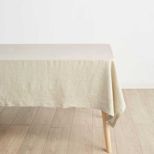 Nimes Natural Tablecloth by Linen House|Natural