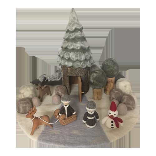 Winter Fairy Play Set