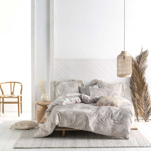 Canyon Linen Quilt Cover & Pillowcase Set by Linen House|