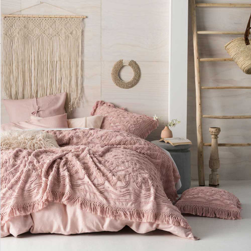 Somers Rose Bed Cover by Linen House|Rose