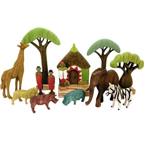 Papoose Africa Set