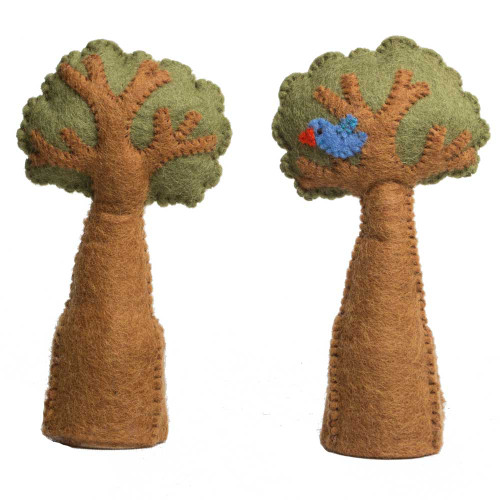Tree & Bird Set 2 Piece Set by Papoose Toys|