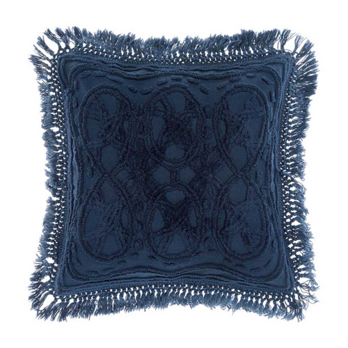 Somers Denim Cushion by Linen House|