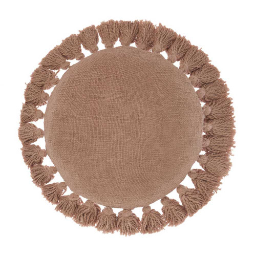 Florida Maple Round Cushion by Linen House|