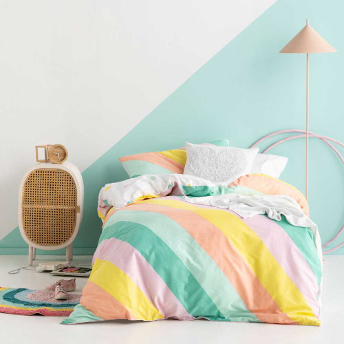 I'm With The Band Pink Quilt Cover & Pillowcase Set by Hiccups|
