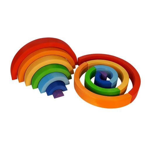 Bauspiel small rainbow