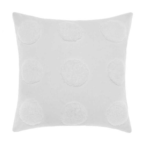 Linen House Haze White Cushion|