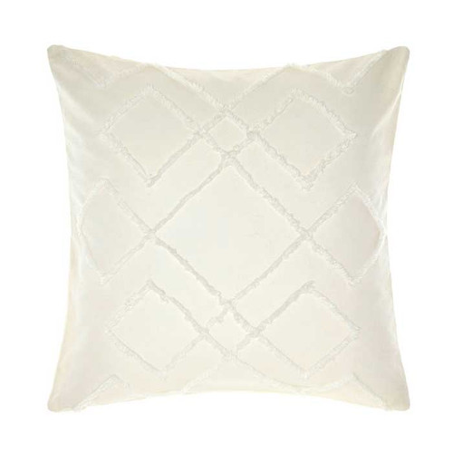Sanura White Pillowcase by Linen House|European