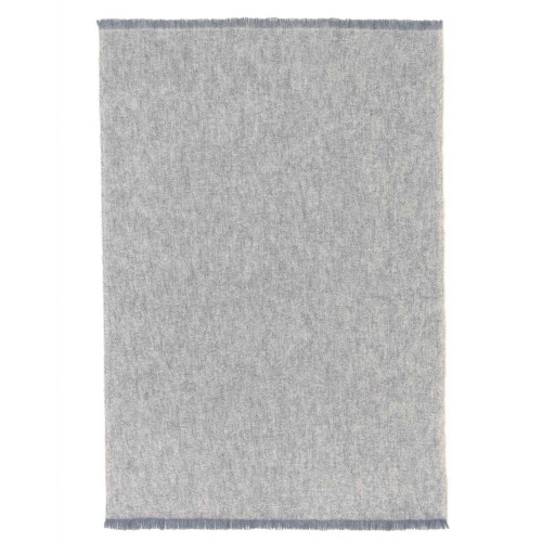 St Albans Alpaca Throw Rug Granite