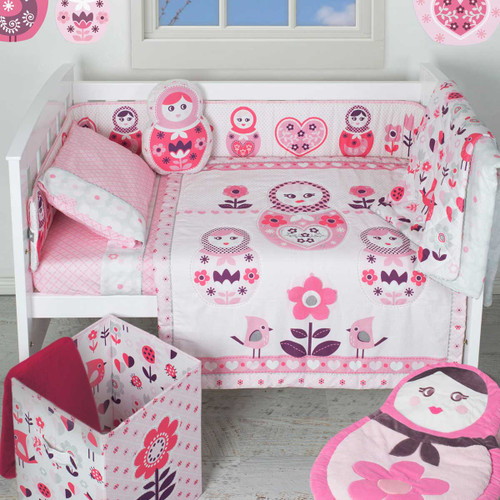 Adele 6 piece Nursery set by Living Textiles|