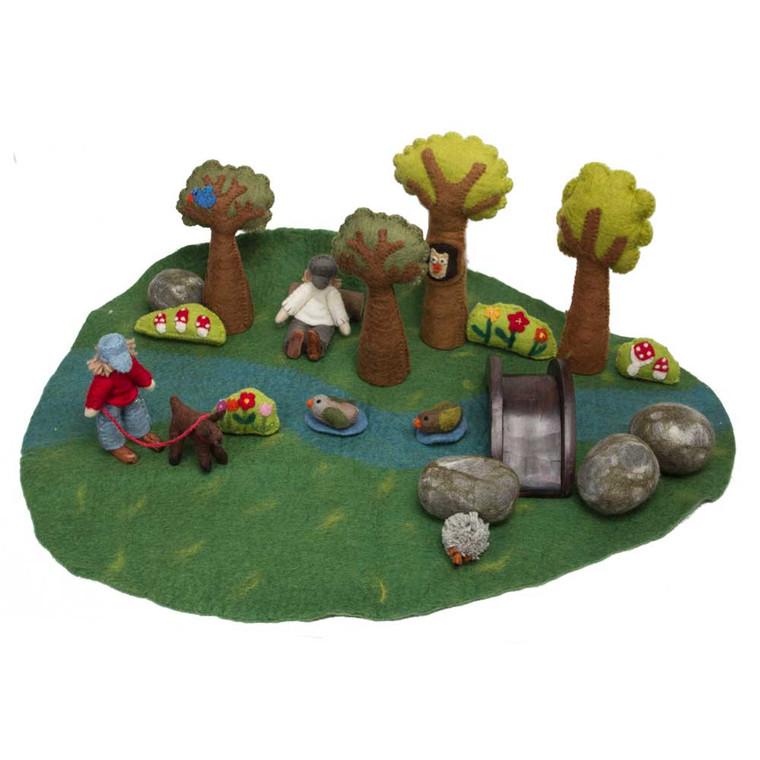 River Play Set 20 Piece Set by Papoose Toys|