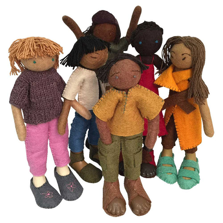 Friends/6pc  by Papoose Toys 