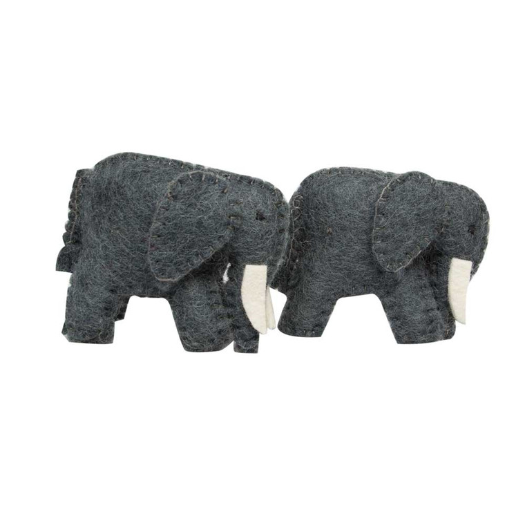Baby Elephants/2pc  by Papoose Toys 