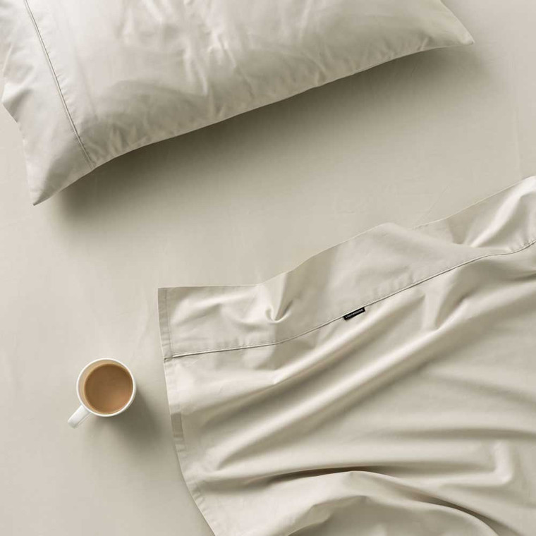 Augusta Taupe Sheet Set by Linen House 