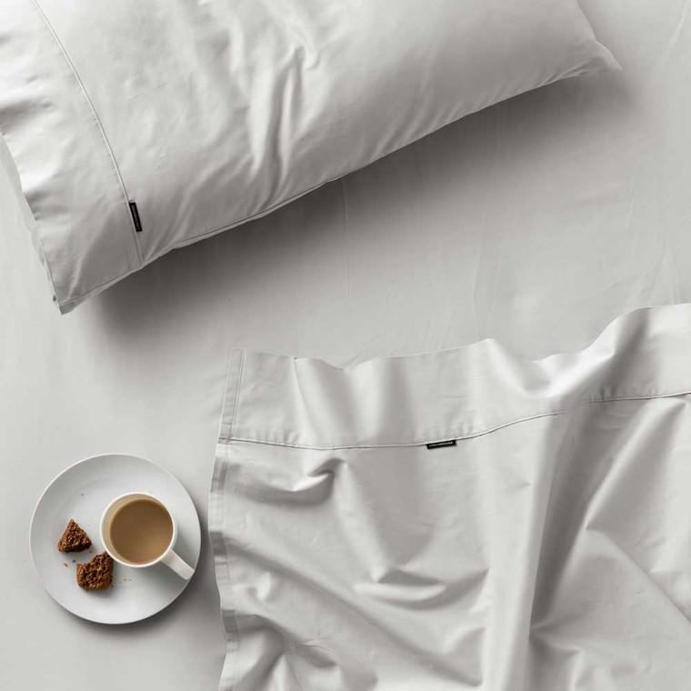 Augusta Grey Sheet Set by Linen House|