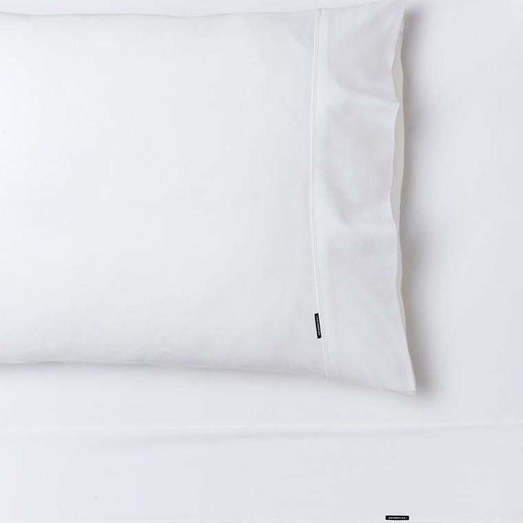 Nara Bamboo 400TC White Sheet Set by Linen House 